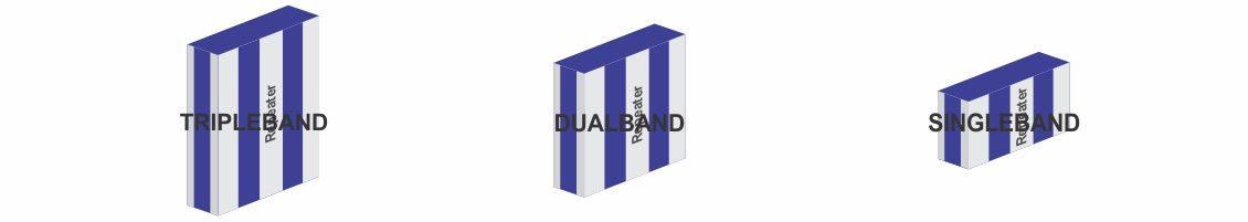 Penguat Sinyal Singleband, Dualband dan Tripleband, Apa perbedaannya…?