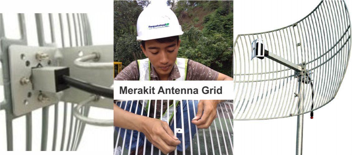 Cara Merakit Antenna Grid