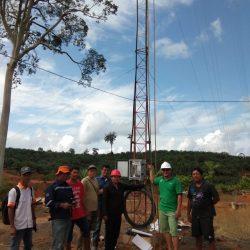Pemasangan Penguat Sinyal Di Perkebunan – Outdoor