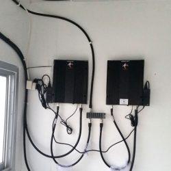 Pemasangan Penguat Sinyal Di PLTG Indoor